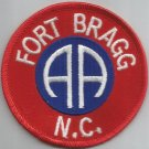 US ARMY - 82nd AIRBORNE DIVISION FORT BRAGG N.C. MILITARY PATCH
