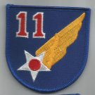 11th AIR FORCE - ARMY MILITARY PATCH - Eleventh Air Force USAF