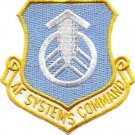 **AIR FORCE SYSTEMS COMMAND MILITARY PATCH**