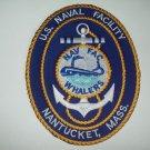 U.S. NAVAL FACILITY NANTUCKET, MASS. MILITARY PATCH