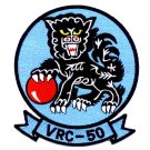 NAVY VRC-50 FLEET LOGISTICS SUPPORT AIR TRANSPORT SQUAD MILITARY PATCH FOO DOG