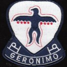 501 Airborne Infantry Regiment Military Patch GERONIMO