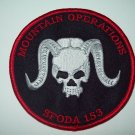 "US ARMY SPECIAL FORCES ""MOUNTAIN OPERATIONS"" SFODA 153 MILITARY PATCH"