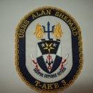 T-AKE 3 USNS ALAN SHEPARD DRY CARGO AMMUNITIOIN SHIP MILITARY PATCH