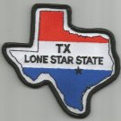 TEXAS THE LONE STAR STATE USA FLAG MOTORCYCLE BIKER JACKET VEST MILITARY PATCH