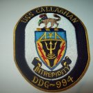DDG-994 USS CALLAGHAN Missile Destroyer Military Patch