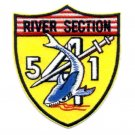 541 US Navy River Patrol Section Vietnam Military Patch PBR