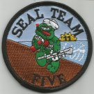 US NAVY SEAL TEAM FIVE MILITARY PATCH SEAL TEAM 5 SEAL TEAM V