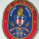 MCM-11 USS GLADIATOR Mine Countermeasures Ship Military Patch