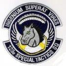 USAF 123rd Special Tactics Squadron Military Patch INGENIUM SUPERAT VIRES