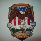 T-AKE 1 USNS LEWIS AND CLARK Dry Cargo/Ammunition Ship Military Patch