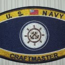 U.S. NAVY CRAFTMASTER MILITARY RATINGS PATCH