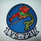PATROL SQUAD Antisubmarine Reconnaissance - VS 721 - EAGLE SCOUTS Military Patch