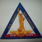 US NAVAL AIR STATION NEW YORK MILITARY PATCH