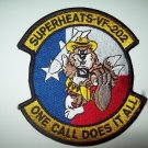 NAVY VF-202 Superheats Insignia F-14 Tomcat Squadron Military Patch ONE CALL