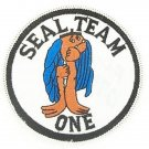 US NAVY SEAL TEAM ONE MILITARY PATCH SEAL TEAM 1