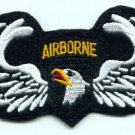 United States ARMY 101st AIRBORNE WINGS MILITARY PATCH