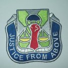 """10th Airborne Military Police Battalion Military Patch """"JUSTICE FROM ABOVE"""""""