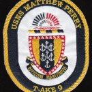 USNS Matthew Perry T-AKE-9 Dry Cargo Ship Military Patch