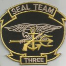 US NAVY SEAL TEAM THREE MILITARY PATCH SEAL TEAM 3 SEAL TEAM III