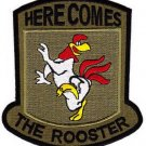 ARMY 377th Aviation Medical Company Dustoff Military Patch HERE COMESTHE ROOSTER