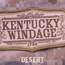 KENTUCKY WINDAGE DESERT TACTICAL COMBAT BADGE MORALE VELCRO MILITARY PATCH