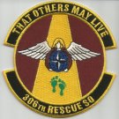 United States Air Force 306th Rescue Squadron Military Patch OTHERS MAY LIVE