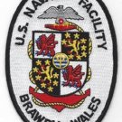 United States NAVAL FACILITY BRAWDY WALES ENGLAND MILITARY PATCH NAF