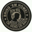 BRING 'EM HOME POW MIA MILITARY CAR VEHICLE WINDOW DECAL PATRIOTIC STICKER