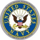 UNITED STATES NAVY SYMBOL MILITARY CAR VEHICLE WINDOW DECAL PATRIOTIC STICKER