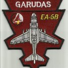 US NAVY ELECTRONIC ATTACK AIRCRAFT SQUADRON EA-6B GARUDAS MILITARY PATCH VAQ-134