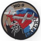 USAF MQ-9 GENERAL ATOMICS UNARMED AERIAL VEHICLE MILITARY PATCH - REAPER