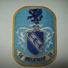 US NAVY USS BELKNAP (CG-26) GUIDED MISSILE CRUISER SHIP MILITARY PATCH