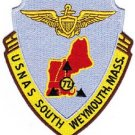 US NAVAL AIR STATION USNAS SOUTH WEYMOUTH, MASS MILITARY PATCH