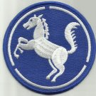 US ARMY REPUBLIC OF KOREA 9th INFANTRY DIVISION MILITARY PATCH BAEKMA WHITEHORSE