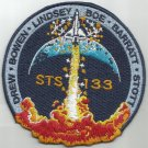 STS-133 SHUTTLE DISCOVERY MISSION FLIGHT SPACE EXPLORATION NASA MILITARY PATCH