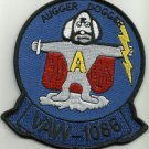 NAVY VAW-1086 AVIATION CARRIER EARLY WARNING SQUAD MILITARY PATCH AUGGER DOGGER