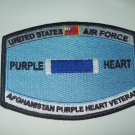 United States Airforce Afghanistan Purple Heart Veteran Military Patch