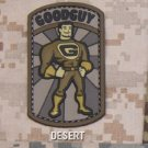 GOODGUY - DESERT - TACTICAL BADGE MORALE PVC VELCRO MILITARY PATCH