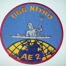 USS NITRO AE-2 AMMUNITION SHIP MILITARY PATCH