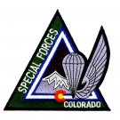 ARMY Special Forces Rocky Mountain Chapter Colorado Military Patch COLORADO