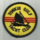 "US NAVY - TONKIN GULF YACHT CLUB - 3"" ROUND - Vietnam War MILITARY PATCH"