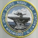 United States NAS NAVAL AIR STATION WILDWOOD, N.J. MILITARY PATCH