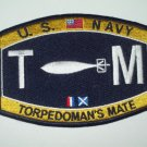 United States Navy TORPEDOMAN'S MATE Ratings Patch - TM - Military Patch