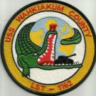 US NAVY USS WAHKIAKUM  COUNTY LST 1162 Tank Landing Ship Military Patch