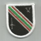 ARMY 5th Special Forces in AFGHANISTAN Combat Beret Military Patch FLASH