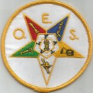 MASONIC ORDER OF THE EASTERN STAR MOTORCYCLE BIKER JACKET VEST PATCH