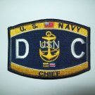 United States NAVY Chief Damage Control Ratings Military Patch - DC
