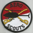 United States ARMY AERO SCOUTS ( HELICOPTER ) MILITARY PATCH