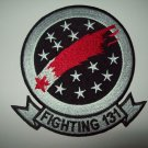 VF-131 US NAVY Aviation Fighter Squadron Military Patch - FIGHTING 131